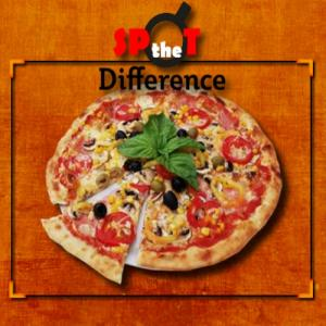 Pizza Spot the Difference
