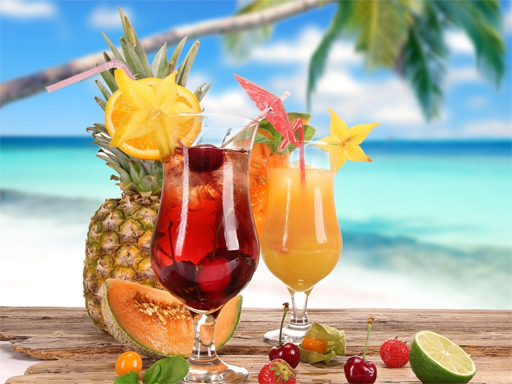 Summer Drinks Puzzle
