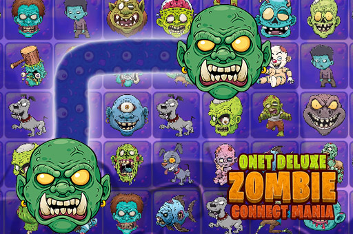 Onet Zombie Connect 2 Puzzles Mania