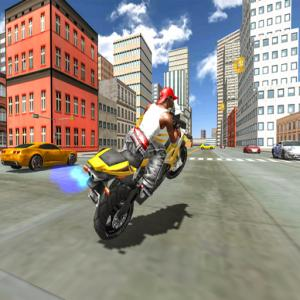 Мотоцикл Simulator Stunt Racing