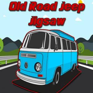 Jigsaw Old Road Jeep