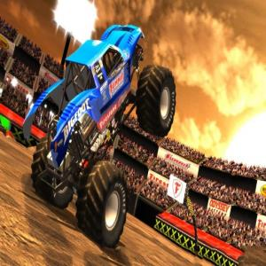 Monster Truck Desert Racing Game 3D 2019