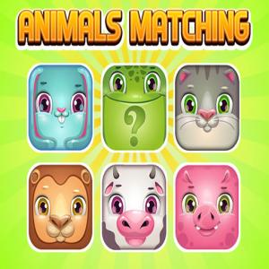 Tiere Memory Matching.