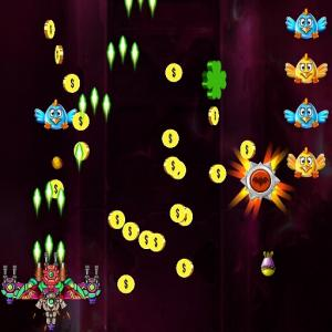 Space Attack Huhn Invaders