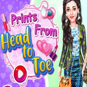 Prints From Head To Toe