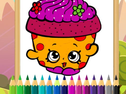 Desserts Coloring Game